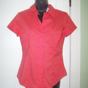 New York & Co Blouse S Coral